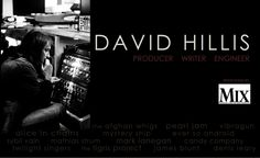 Dave Hillis (composer/producer) is currently in studio with Cherry Tigris
