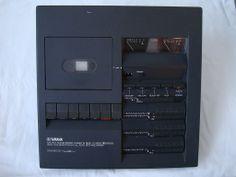 Yamaha TC 800 D Kassetten Deck - Design by Mario Bellini