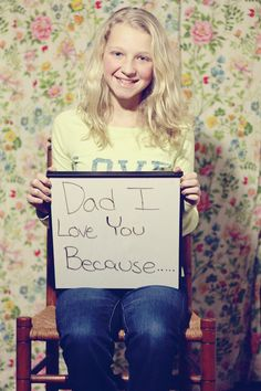 Create a video love letter (gif) for your spouse/children/parents  - I Love you because...
