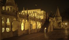 Fisherman's Bastion overlooking the Danube River in Budapest, Hungary - beautiful place to visit at sunset Vacation Destinations, Dream Vacations, Tauck River Cruises, Places To Travel, Places To Go, Danube River Cruise, Buda Castle, Travel Memories, Budapest Hungary