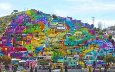 Crazy Coloured Mexican Town (273 pieces)