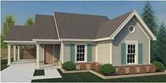 Traditional House Plan 44929 Elevation