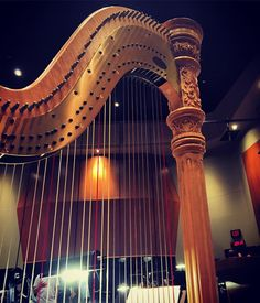 #harp so beautiful and such a spiritual instrument final day of making #beautiful #music @bmi #bmi #conducting #workshop #psalm150 my favorite #bible verse