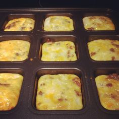 "Casa de Crews: breakfast ""muffins"" {a recipe} Omelette Muffins, Keto Breakfast Muffins, Low Carb Breakfast, Breakfast Dishes, Breakfast Casserole, Breakfast Recipes, Breakfast Ideas, Breakfast Omelette, Sunday Breakfast"