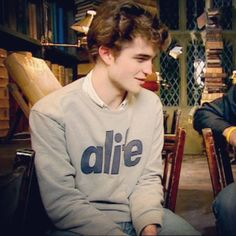 young Rob -- I remember when this interview was new! Say My Name, Fine Men, Dream Guy, Most Beautiful Man, Robert Pattinson, Kristen Stewart, Interview, Handsome, Graphic Sweatshirt