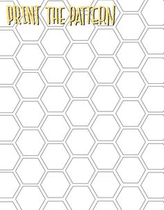 honeycomb pattern printable                                                                                                                                                      More