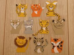 FOX BUILDER PUNCH -- Lysette's Stampin Universe: Big tiny Cats