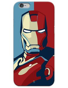Iron Man Comic cover case for iPhone 6/6s