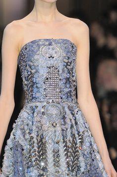 Défile Giorgio Armani Privé Haute couture Printemps-été 2014 - Détail 116