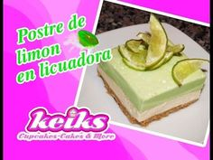 Postre de limon en licuadora (sin horno) - YouTube Mousse, Ramadan Recipes, Cheese Ball, No Bake Desserts, Dory, Sweet Recipes, Cheesecake, Pudding, Make It Yourself