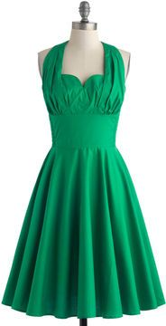 Retro Reminisce Dress in Green on shopstyle.ca