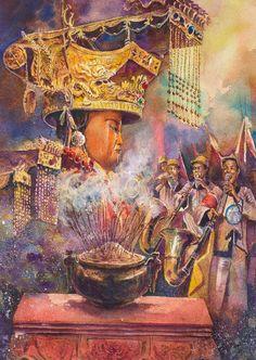 2015臺中媽祖國際觀光文化節「彩筆畫媽祖」水彩比賽-活動簡章