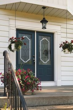 """Like these doors? Live near Glen Ellyn, IL? Call Ultimate Home Solutions for a free in-home estimate at Recipient of the Better Business Bureau """"Complaint Free Award"""". Basement Remodel Cost, Basement Remodeling, Door Glass Inserts, Stained Glass Door, Home Estimate, Traditional Doors, Glass Replacement, Types Of Doors, Glass Design"""
