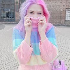 #pastel #rainbow