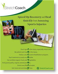 Click here to download the Sports Injury Recovery Poster