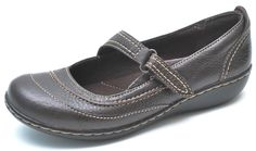 Clarks Bendables ASHLAND AVENUE Brown Mary Janes Shoes Women's 6 - NEW - 62642 #Clarks #MaryJanes