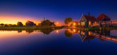 ...zaanse schans VIII... - i was lucky enought to spend 3 days in a row in zaanse schans - small village that has a collection of well-preserved historic windmills and houses. so here's the photo taken during the sunset...  All images are © copyright roblfc1892 - roberto pavic. You may NOT use, replicate, manipulate, or modify this image. roblfc1892 - roberto pavic © All Rights Reserved