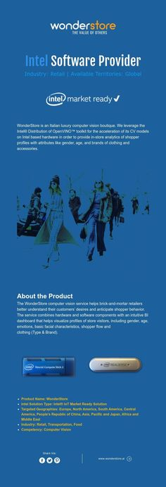 Intel Software Provider  Industry: Retail | Available Territories: Global Cv Models, It Cv, Computer Vision, Software, Retail, Industrial, Marketing, Industrial Music, Sleeve