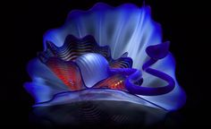 (Byzantine Blue Persian) Studio Edition by Dale Chihuly