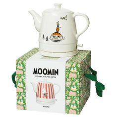 Vattenkokare Moomin 1750 W Lake design Keramik Funny Kitchen, Kitchen Humor, Moomin Valley, Tove Jansson, Kitchen Ware, Little My, Troll, Kettle, Future House