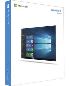 Windows 10 Home  Full Version (32 & 64-bit) / USB Flash Drive