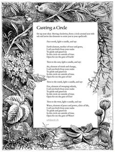 Casting A Circle….(Printable Spell Pages) – Witches Of The Craft®