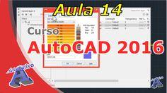 Curso de AutoCAD 2016 – Configuração de Layers – Aula 14 – Autocriativo