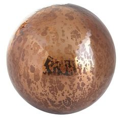 Mercury Glass Sphere - Copper