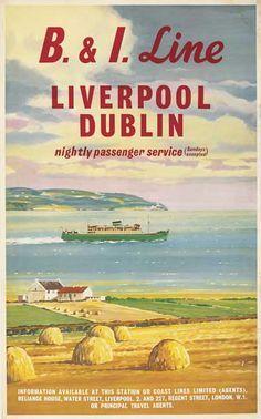 B&I Line - British & Irish Steam Packet Co.