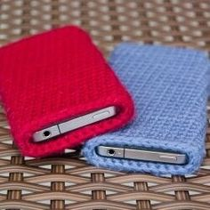 Etui tel portable crochet