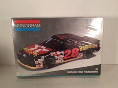 Monogram Vintage Davey Allison Texaco Havoline NASCAR Model Kit