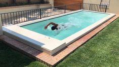 Small Swimming Pools, Small Pools, Swimming Pools Backyard, Swimming Pool Designs, Swiming Pool, Backyard Pool Landscaping, Backyard Pool Designs, Small Backyard Pools, Outdoor Pool