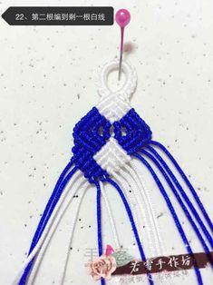 斜卷结手链教程(转载) 第22步 Crochet Necklace, Jewelry, Step By Step, Bangle Bracelets, Jewlery, Jewerly, Schmuck, Jewels, Jewelery