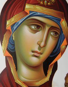 Frescele lui Alexandru Soldatov (Partea a Religious Images, Religious Icons, Religious Art, Byzantine Icons, Byzantine Art, Face Icon, Russian Icons, Religious Paintings, Medieval Art