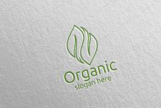 Natural and Organic Logo design 40 by denayunebgt on @creativemarket