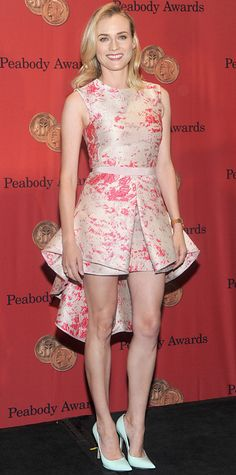 Look of the Day - May 20, 2014 - Diane Kruger in Giambattista Valli from #InStyle