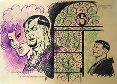"Magnus - Original illustration ""Il Conte Notte"" - W.B."