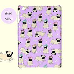 Pug iPad case pug ipadlilacpug ipad miniipadipad by FiaMiaCases