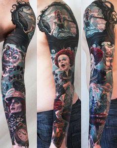 Tatuagens de Alice no Pais das Maravilhas 07