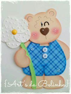 urso Fish Crafts, Diy And Crafts, Paper Crafts, Baby Scrapbook, Scrapbook Paper, Sewing Crafts, Sewing Projects, Kindergarten Crafts, Handmade Books