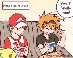 pokemon sun and moon RED | Tumblr