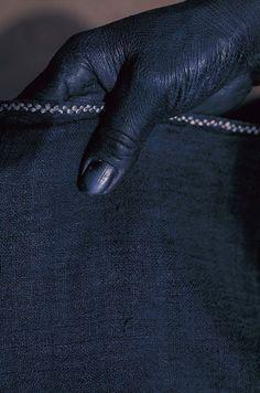 indigo hands  [ Blue, The Coolest Color. CV ]