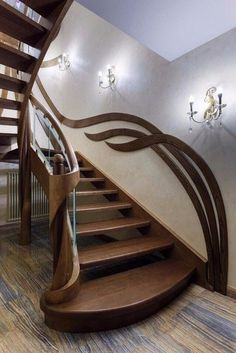 Full catalog of interior stair railing ideas, the proper material to use according to your staircase design, modern stair railing designs and and some expert tips for glass stair railing system installation Interior Stair Railing, Modern Stair Railing, Stair Railing Design, Modern Stairs, Wrought Iron Stairs, Glass Stairs, House Stairs, Modern House Design, Door Design