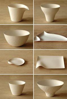beautiful, natural paper plates
