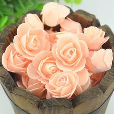 200 Foam Rose Wedding Bouquet/DIY Flower
