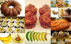 Em bolos, cupcakes, tortas ou pães, a banana brilha absoluta...