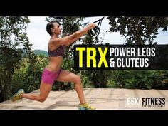 This is a workout routine focused for your legs and gluteus using TRX. It will develop endurance and will create muscular definition with exercises that combines strength and power. Remember to do a gradual increase in the amount of repetitions and in the sets.