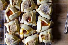 apricot hazelnut brown butter hamantaschen | smittenkitchen.com