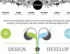 Sometimes in order to create a new website you can get inspiration from other websites design. Today I`ve picked 33 amazing website designs with artistic hand-drawn elements. Design Web, Web Design Agency, Web Design Trends, Design Layouts, Graphic Design, Website Header Design, Website Layout, Front End Design, Amazing Website Designs