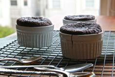 Mini Flourless Chocolate Cakes